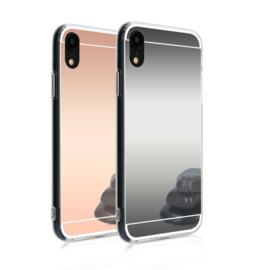 iPhone Xr TPU Bling Spiegel Hoesje 4 Kleuren