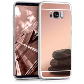 Galaxy S8 TPU Bling Spiegel Hoesje 4 Kleuren