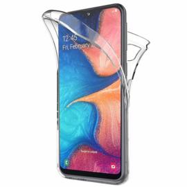 Galaxy A20E 360° Full Cover Transparant TPU Hoesje