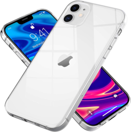 iPhone 12 / 12 Pro Premium Soft TPU Hoesje Transparant