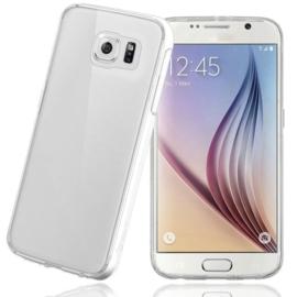 Galaxy S6 Soft TPU Hoesje Transparant / Kleur