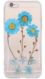 iPhone 6 Plus / 6S+ Flower Case Hoesje Met Echte Gedroogde Bloemen