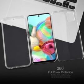 Galaxy A71 360° Ultra Clear Hybrid PC + TPU Hoesje