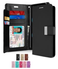 Galaxy S8 Rich Diary Portemonnee Hoesje