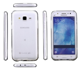 Galaxy J3 (2016) 360° Full Cover Transparant TPU Hoesje