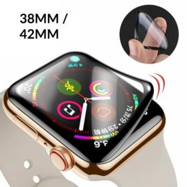 Apple Watch 38MM / 42MM 3D Flexibel Plexiglas Screenprotector