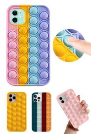 iPhone 12 Mini Pop It Fidget Toy Hoesje Soft TPU