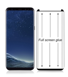 Galaxy S8 Full Glue Case Friendly 3D Tempered Glass Protector