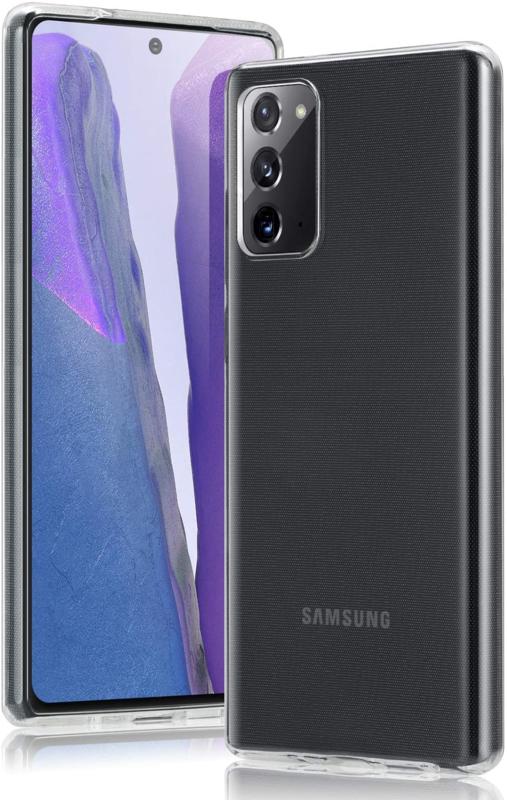 Galaxy Note 20 Premium Transparant Soft TPU Hoesje