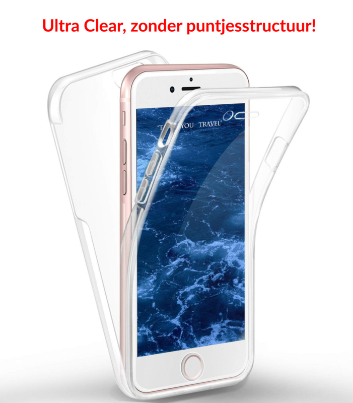 iPhone 6 Plus / 6S+ 360° Ultra Clear Hybrid PC + TPU Hoesje