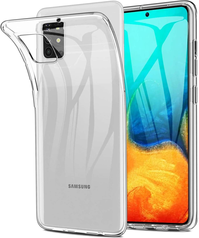 Galaxy A71 Premium Transparant Soft TPU Hoesje