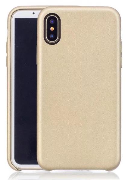 iPhone Xr Leren Back Cover Hoesje 5 Kleuren
