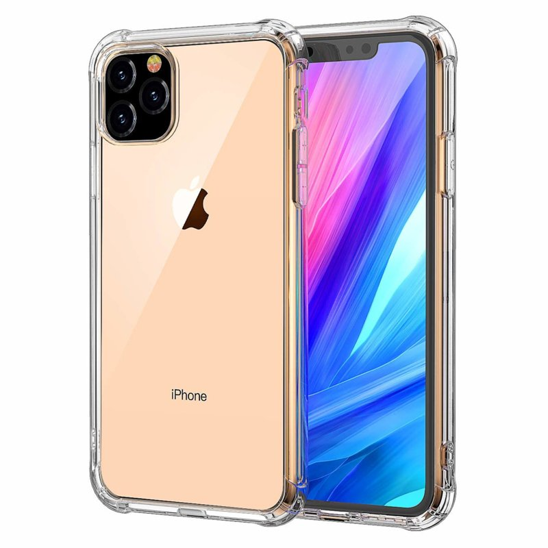 iPhone 11 Pro Max Transparant Soft TPU Air Cushion Hoesje