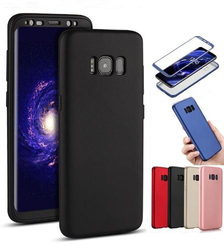 Galaxy S8 Plus 360° Full Cover Case Hoesje incl. Folie Screenprotector