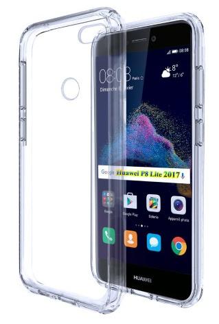 Huawei P8 Lite 2017 Soft TPU Hoesje Transparant