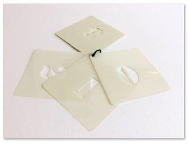 500mm Sjablonen Cijfers Set Stencil Font 0-9