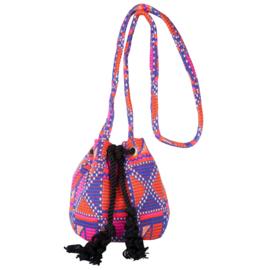 BULU Bucketbag | Orange/Purple/Pink