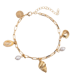 Anklet ''BEACH'' - Shell vibes
