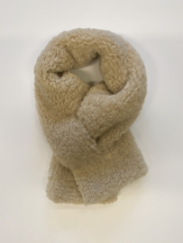 Teddy scarf- beige