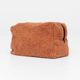 Teddy make-up bag - Brown