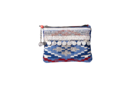 """""""Partai Coin"""" Wallet- Blue & red"""