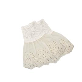 Sleeves Lace + Broderie flowers (set van 2)