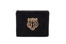 TIGER Clutch - Velvet Black