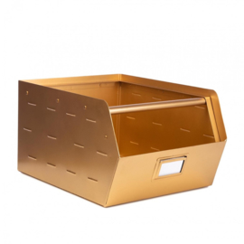 Original metalen bak - Gold