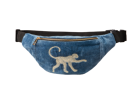 "Bumbag - ""MONKEY"" - Velvet Blue"
