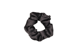 Drop it like its DOT-  scrunchie- black