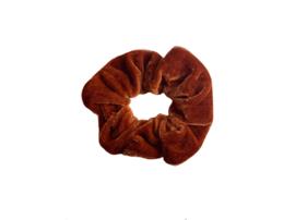 """Scrunchie Velvet """"UNI"""" Rust"""