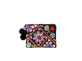 """""""Bunga Pom Pom"""" Mini Wallet"""