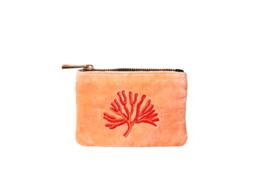 Etui ''Ariël'' - Coral velvet Peach - XXS