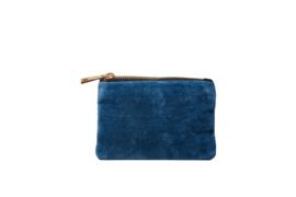 """Wallet """"UNI VINTAGE BLUE"""" - Blue - XXS"""