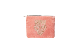 TIGER Wallet - Velvet Blush Pink