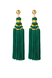 BULU Statement Earrings - Green