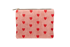 "Etui ""SPREAD LOVE"" - Pink & Red - XXL"