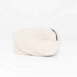 Teddy make-up bag - Off white