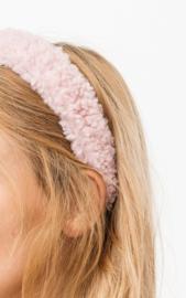Teddy  headband - Pink