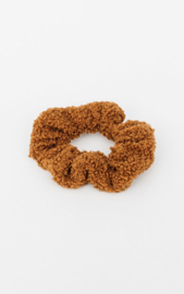 Teddy scrunchie - Brown