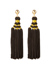 BULU Statement Earrings - Black