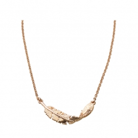 """""""Twist MY Feather"""" Necklace"""