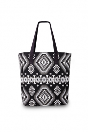 """Shop till YOU drop"" shopper-black & white"