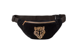 "Bumbag - ""TIGER"" - Velvet Black"