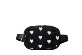 "Beltbag ""SPREAD LOVE"" -  Black & White"