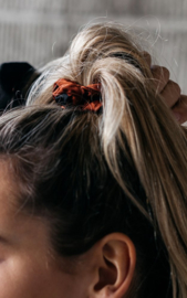 "Scrunchie ""DOTS"" Rust"