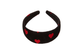 Spread LOVE headband - Black & Red