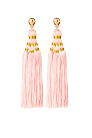 BULU Statement Earrings - Pink
