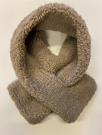 Teddy scarf- taupe