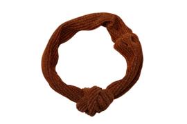 Headband glitter - Rib Rust
